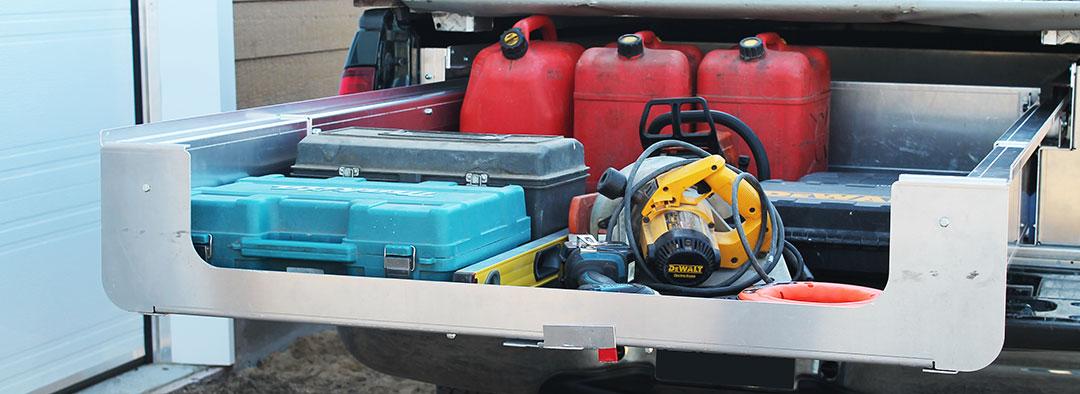 Tiroir coulissant Camion Box
